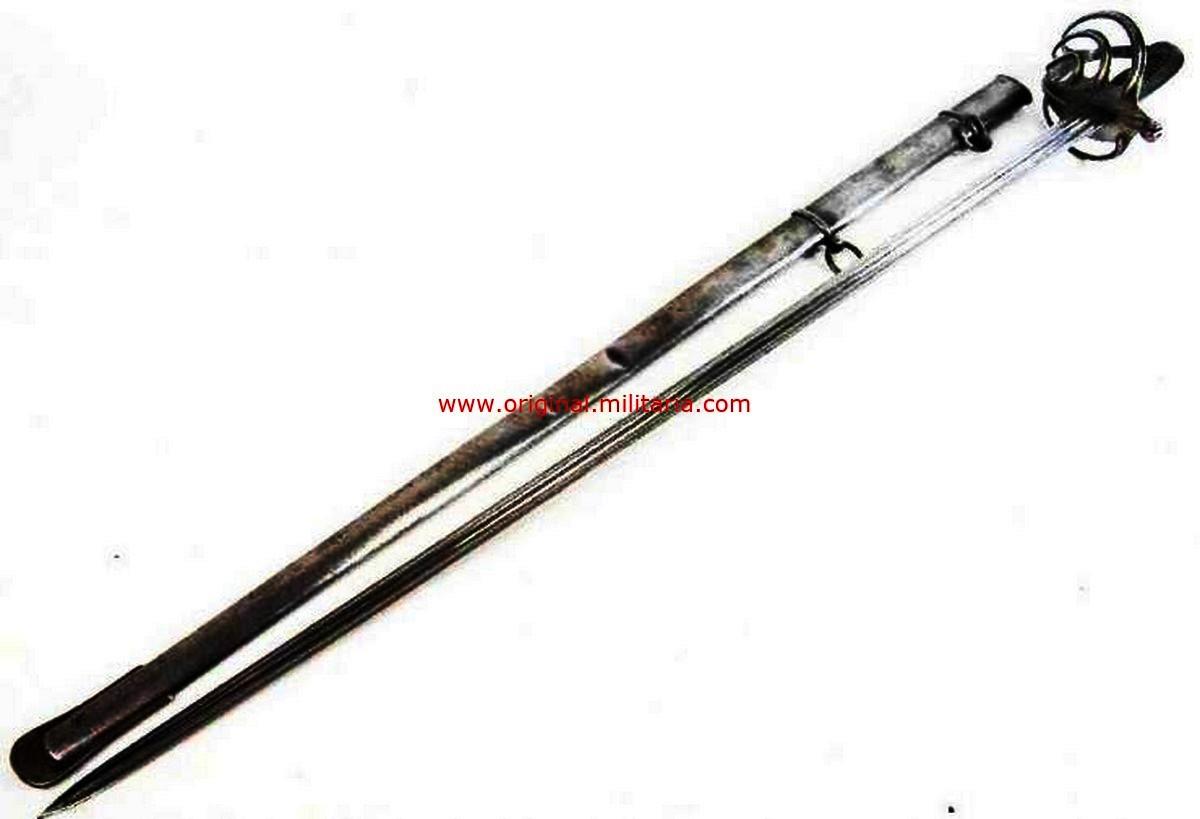 Espada Francesa de Oficial M1855